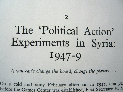 Experiments in Syria booklet