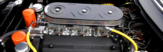 Ferrari 275GTB V12 engine